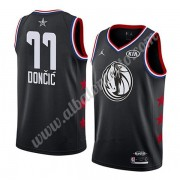 Camisetas NBA Baratas Dallas Mavericks 2019 Luka Doncic 77# Negro All Star Game Swingman..